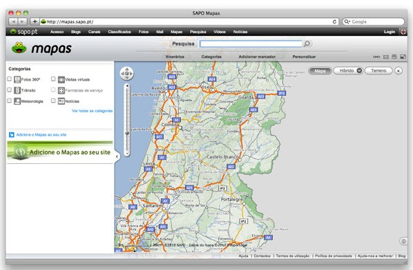 Conhece Portugal Atraves Dos Mapas Da Sapo Pplware Kids