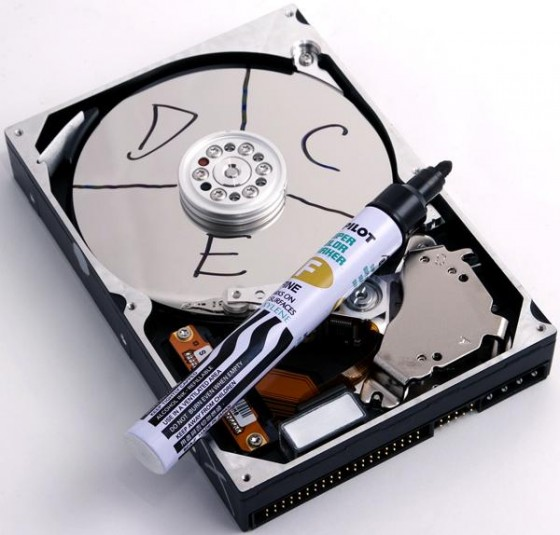How to recover hard drive partition