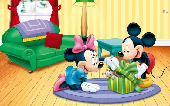 Mickey-and-Minnie-and-pets_1680x1050