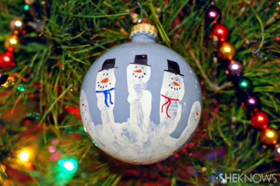 hand-print-snowman-ornament