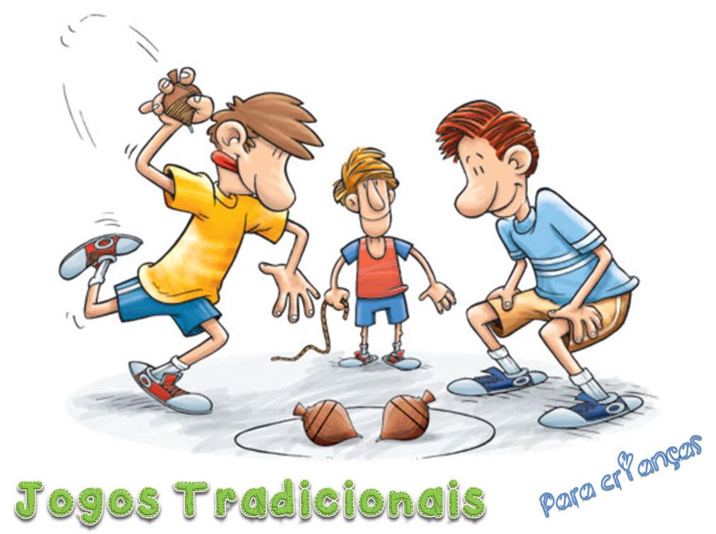 44f425873809f Jogos tradicionais para crianças muito divertidos!