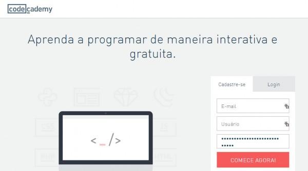 Codecademy - Nova cara