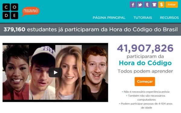 Code.org em português