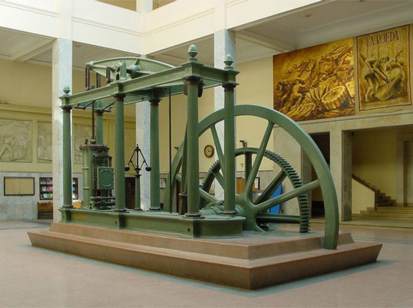 Máquina a Vapor Watt