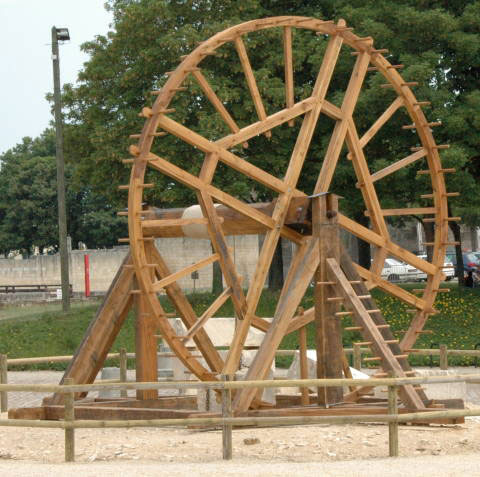 Guindaste Treadwheel