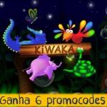Apps Kiwaka e Kiwaka Story: Ganha 6 promocodes!