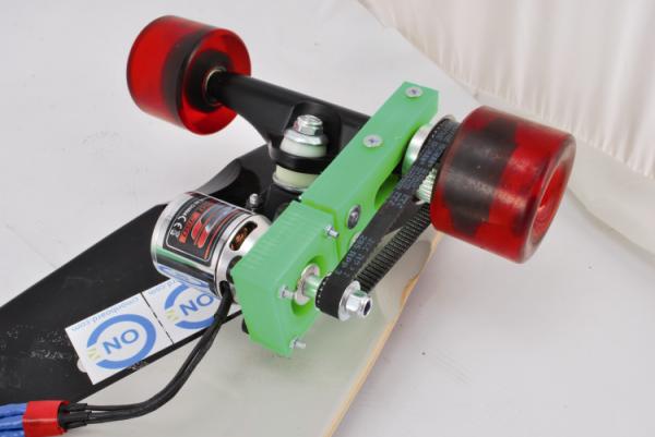 Skateboard controlado com um smartphone!