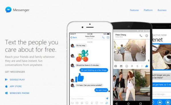 Já podes usar apenas o Facebook Messenger
