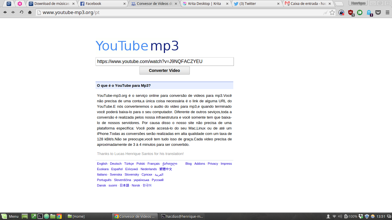 Download De Músicas Do Youtube Sem Instalar Nada Pplware Kids