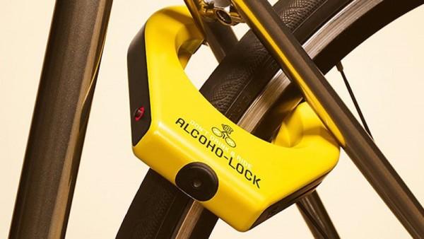 O Alcoho-lock impede que conduza bicicletas ou motos bêbedo
