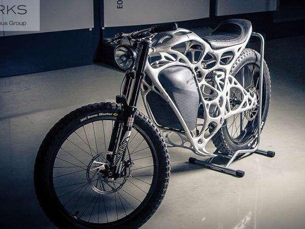Moto impressa em 3D pode ser sua por 50 mil euros