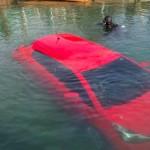 GPS leva mulher a ir parar dentro de um lago