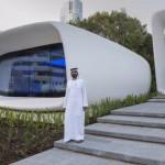 Impressora 3D constrói escritório no Dubai
