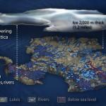 Há um mundo enterrado sob o gelo da Antárctida