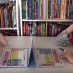 Uma tabela periódica transformada num jogo de batalha naval