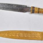 Faraó Tutancámon tinha uma faca feita de meteorito