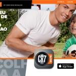 CR7 lança app que permite tirar selfie com o melhor do mundo