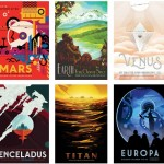 NASA oferece 14 posters futuristas gratuitamente