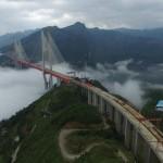 Ponte Beipanjiang é actualmente a mais alta do mundo
