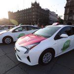 """México: Táxis híbridos têm botão de """"pânico"""" e app tipo Uber"""