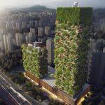 Floresta vertical da Ásia produzirá 60kg de oxigénio por dia