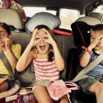 Distração garantida das crianças em viagem