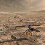 A Nasa planeia enviar mini-helicóptero para Marte