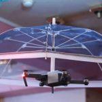 Poderá um drone ser transformado num guarda-chuva voador?