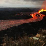 Tem noção da velocidade que um rio de lava pode alcançar?
