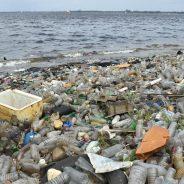 Cientistas criaram plástico que se decompõe na água do mar