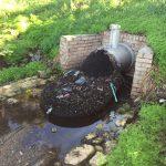 Cidade australiana instala redes de drenagem e recolhe 370 kg de lixo