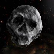 Asteroide com formato de caveira  passará perto da Terra em novembro