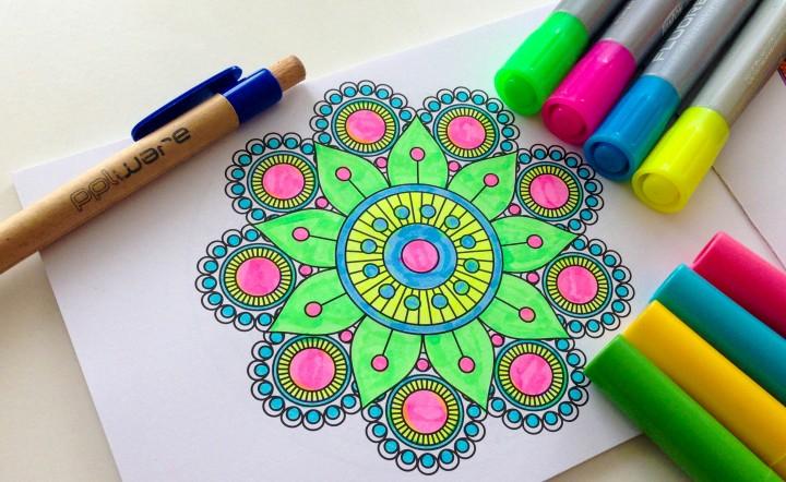 Mandalas Apps Para Colorir Tambem No Smartphone Tablet Pplware Kids