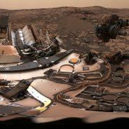 Como está hoje o céu de Marte?