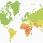 Mapa que revela os países que têm melhores hipóteses de sobreviver às mudanças climáticas