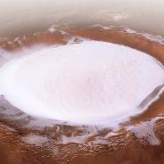 Marte: Há gelo na cratera de Korolev